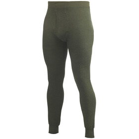Woolpower 400 Leggings Johns Avec braguette Homme, pine green